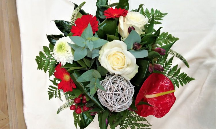 Bouquet rond traditionnel